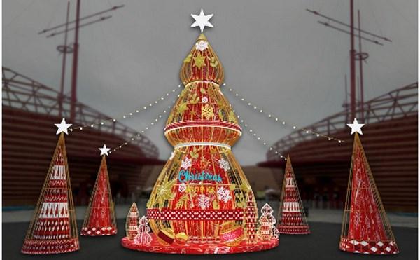 Festive Wonderland - Le hoi than tien tai xu so Vinpearl Land hinh anh 8