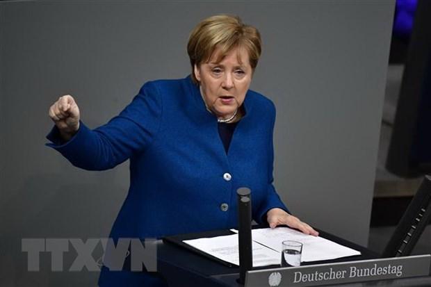 Thu tuong Duc Angela Merkel tu chuc chu tich dang CDU hinh anh 1