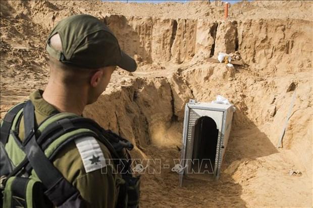 Quan doi Israel no sung vao cac nha hoat dong Hezbollah tai bien gioi hinh anh 1