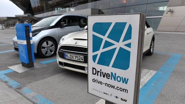Daimler-BMW duoc sap nhap dich vu xe chung Car2Go va DriveNow hinh anh 1
