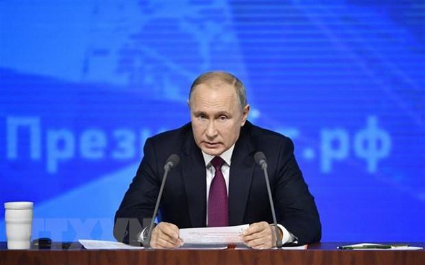 Tong thong Putin: Muc tieu cua Nga la vao nhom kinh te hang dau hinh anh 1