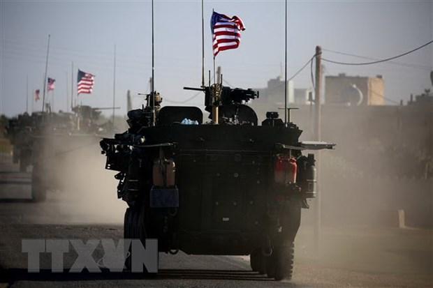 Iran: Su hien dien quan su cua My tai Syria la ngon nguon cang thang hinh anh 1