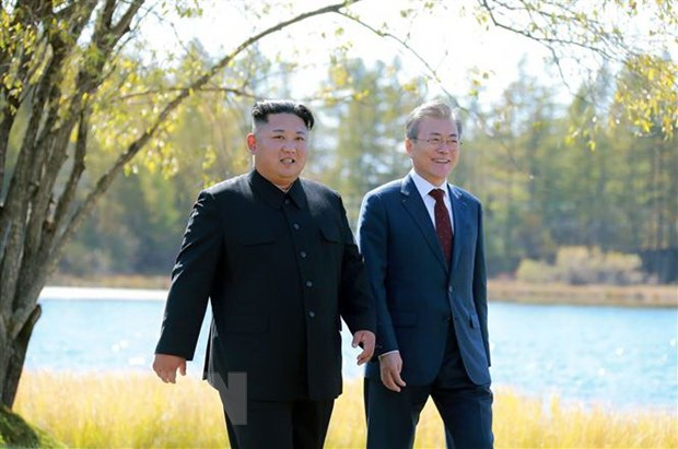 Nha lanh dao Trieu Tien Kim Jong-un se som tham Han Quoc hinh anh 1