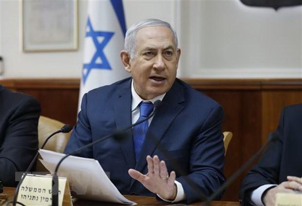 Thu tuong Israel hy vong lien minh canh huu duoc lap sau bau cu hinh anh 1
