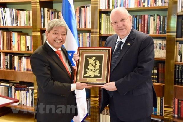 Tong thong Israel khang dinh coi trong phat trien quan he voi Viet Nam hinh anh 1