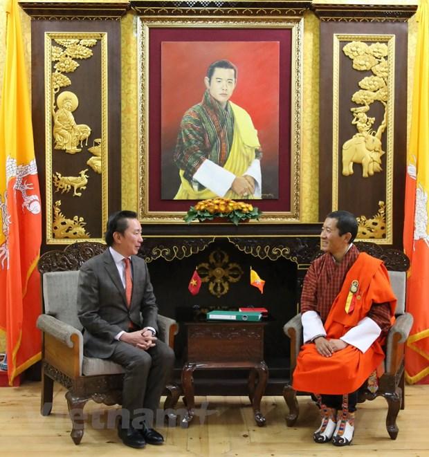 Thuc day quan he hop tac Viet Nam-Bhutan ngay cang thuc chat, hieu qua hinh anh 3