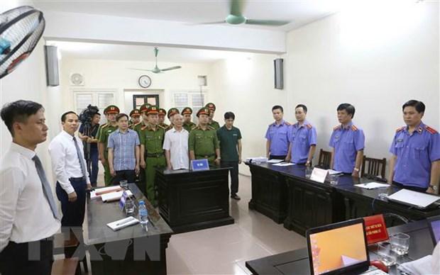 Truy to ong Tran Viet Tan va Bui Van Thanh lien quan vu Vu