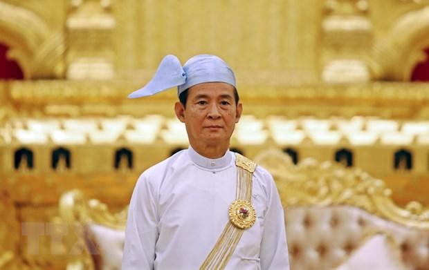Myanmar khang dinh san sang dam phan hoa binh voi nhom vu trang hinh anh 1