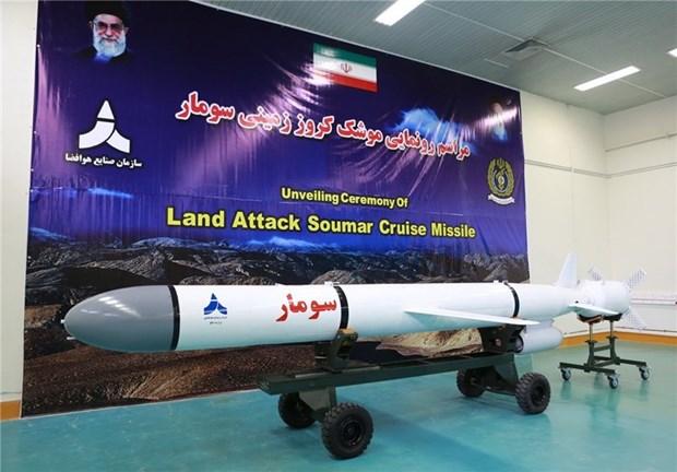 Iran: IRGC sap tiep nhan ten lua hanh trinh tam xa Soumar hinh anh 1