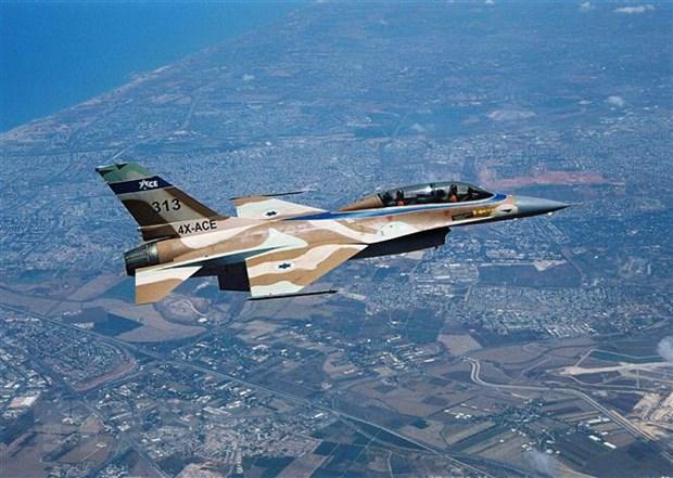 May bay chien dau Israel khong kich Hamas va nhom vu trang o Gaza hinh anh 1