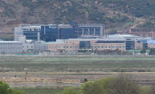 Han Quoc can thoi gian xem xet de nghi tham khu cong nghiep Kaesong hinh anh 1