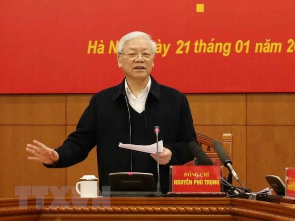 Cong tac chong tham nhung nam 2019 phai dat ket qua tot hon 2018 hinh anh 1