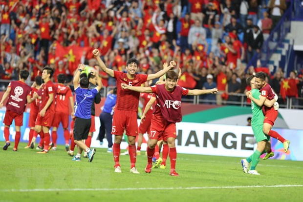 Asian Cup 2019: Truyen thong Tay A than phuc doi tuyen Viet Nam hinh anh 1