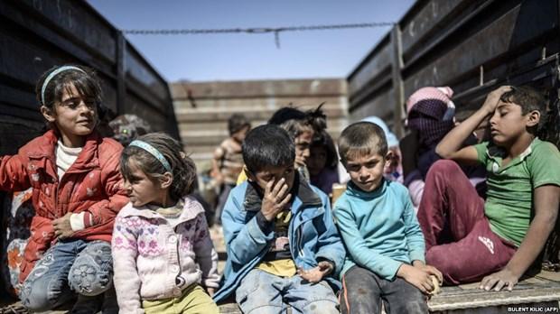 WHO cuu tro y te khan cap cho nguoi dan o Dong Bac Syria hinh anh 1