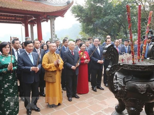 Tong Bi thu, Chu tich nuoc cung kieu bao tha ca chep tien ong Tao hinh anh 2
