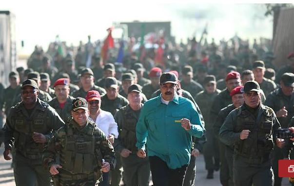 Tong thong Venezuela Nicolas Maduro thi sat can cu quan su hinh anh 1