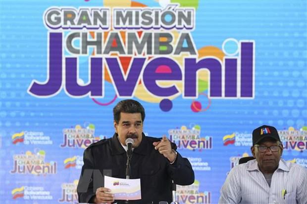 Uruguay de xuat dang cai to chuc dam phan van de Venezuela hinh anh 1