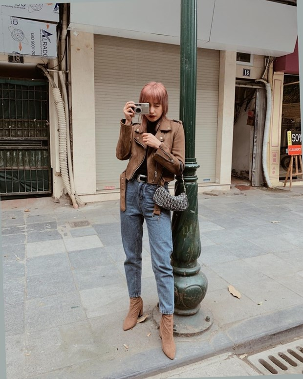 Dai tiec street style cua dan sao Viet truoc them Tet Nguyen dan hinh anh 13