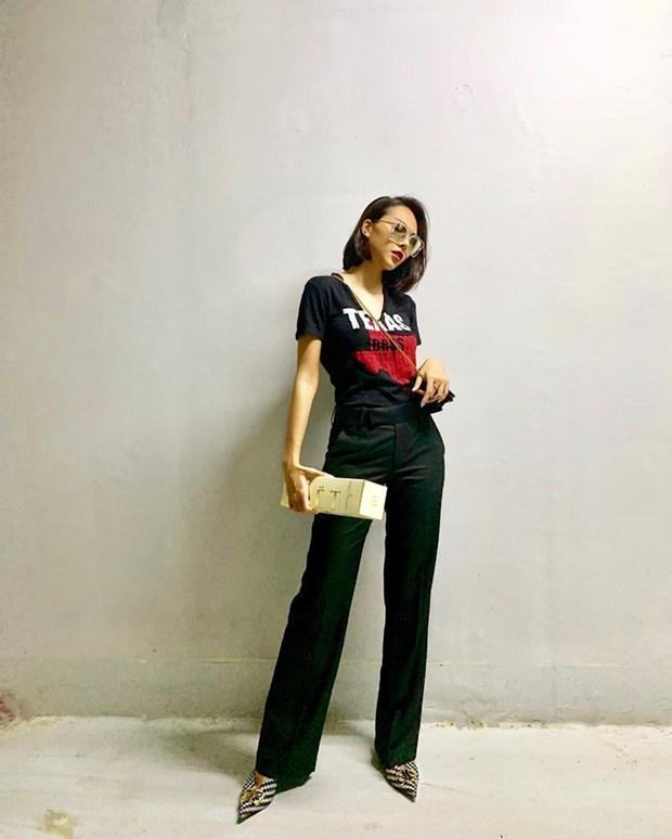 Dai tiec street style cua dan sao Viet truoc them Tet Nguyen dan hinh anh 10