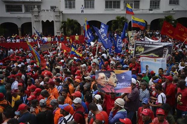 Mexico, Uruguay no luc tim giai phap hoa binh cho tinh hinh Venezuela hinh anh 1