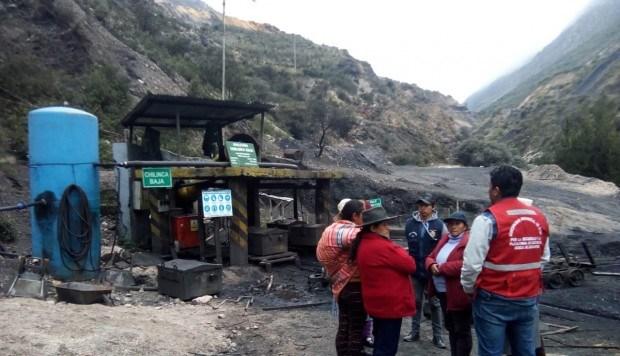 Peru: Sap ham do mua lon, nhieu tho mo bi mac ket o do sau 800m hinh anh 1