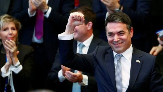 Macedonia va dai dien cac nuoc ky nghi dinh thu gia nhap NATO hinh anh 1