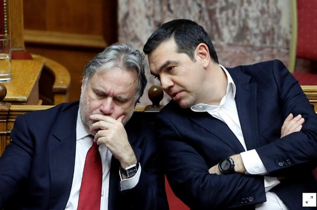 Thu tuong Hy Lap Alexis Tsipras bo nhiem ngoai truong, 4 thu truong hinh anh 1