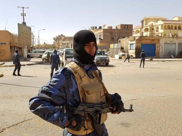Libya: Mot nhom tay sung bat coc 14 cong nhan Tunisia hinh anh 1
