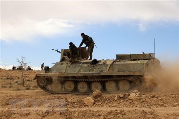 SDF gianh quyen kiem soat thanh tri cuoi cung cua IS o Dong Syria hinh anh 1