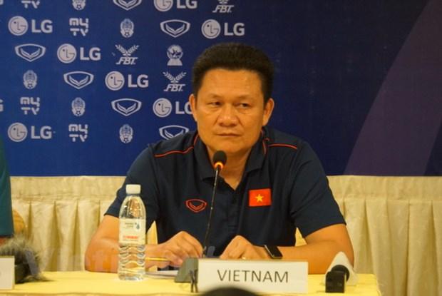 HLV Nguyen Quoc Tuan: U22 Viet Nam khong e so cau thu nhap tich hinh anh 1
