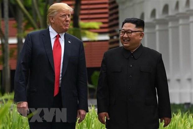 Tong thong Trump muon gap lai Chu tich Trieu Tien sau cuoc gap lan 2 hinh anh 1