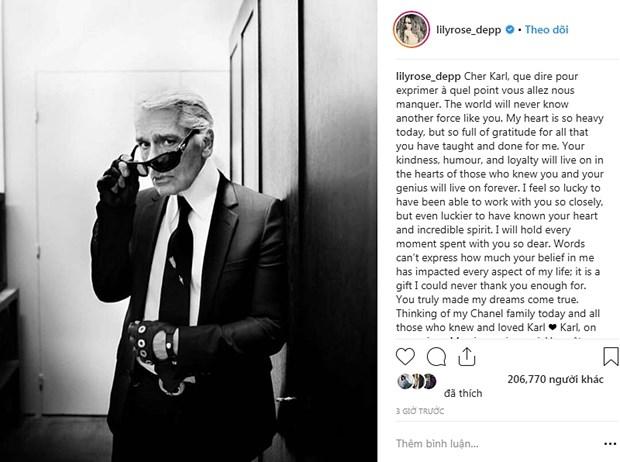 Kendall Jenner, G-Dragon va sao quoc te tiec thuong Karl Lagerfeld hinh anh 21