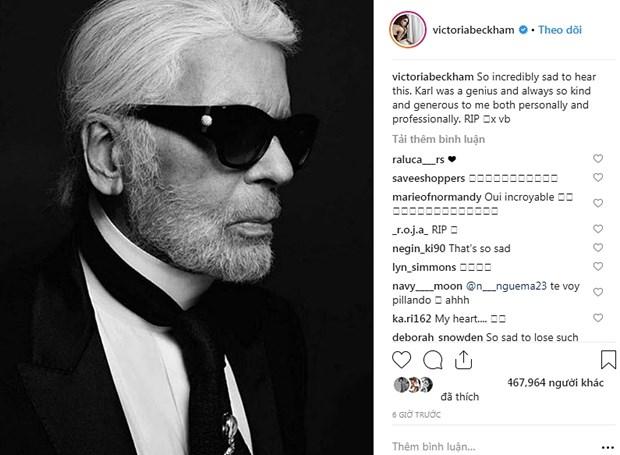 Kendall Jenner, G-Dragon va sao quoc te tiec thuong Karl Lagerfeld hinh anh 2