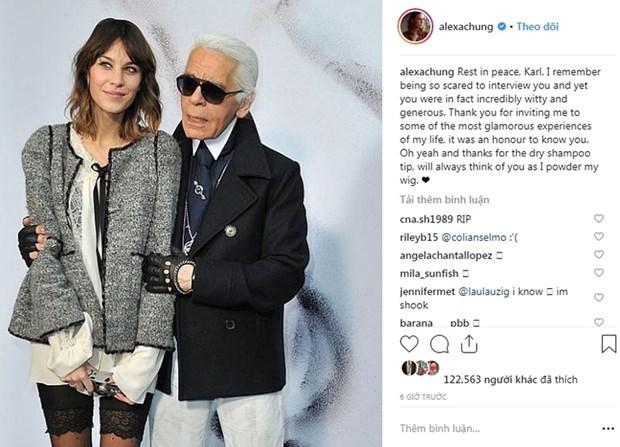 Kendall Jenner, G-Dragon va sao quoc te tiec thuong Karl Lagerfeld hinh anh 13