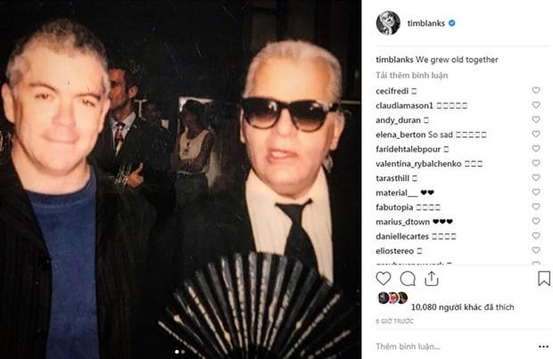 Kendall Jenner, G-Dragon va sao quoc te tiec thuong Karl Lagerfeld hinh anh 7