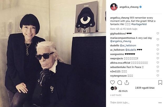 Kendall Jenner, G-Dragon va sao quoc te tiec thuong Karl Lagerfeld hinh anh 5