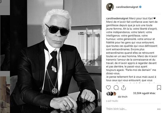 Kendall Jenner, G-Dragon va sao quoc te tiec thuong Karl Lagerfeld hinh anh 19