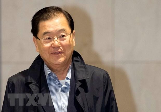 Han Quoc hop hoi dong an ninh thao luan ve cuoc gap Hoa Ky-Trieu Tien hinh anh 1