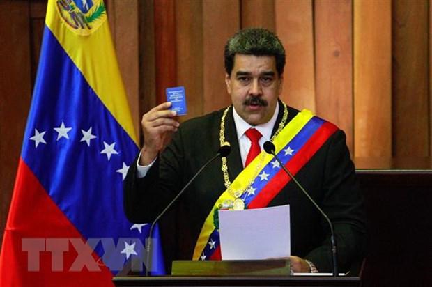 Duc ung ho trung phat nham vao Tong thong Venezuela Maduro hinh anh 1