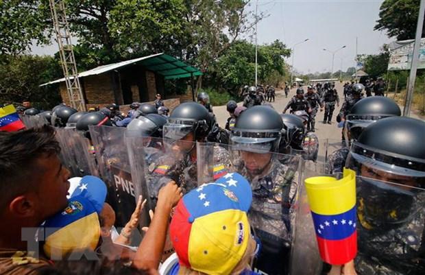 EU keu goi cac nuoc tranh can thiep quan su vao Venezuela hinh anh 1