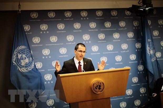 Chinh quyen Venezuela de nghi lanh dao phe doi lap Guaido dam phan hinh anh 1