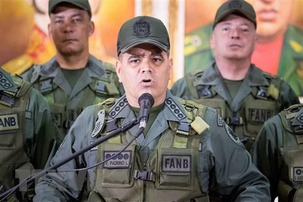 Bo truong Venezuela to cao tham vong quan chu cua phe doi lap hinh anh 1