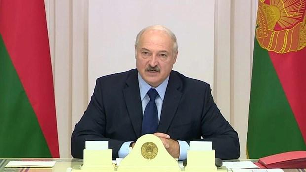 Tong thong Belarus: 98% nguoi dan se phan doi viec thong nhat voi Nga hinh anh 1