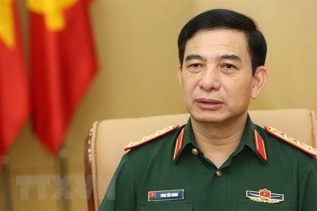 Hop tac quoc phong la tru cot trong quan he Viet Nam va Singapore hinh anh 1