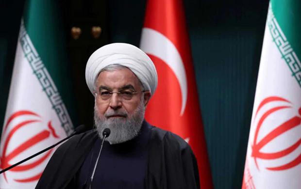 Tong thong Iran Rouhani bat dau tham lich su dau tien toi Iraq hinh anh 1