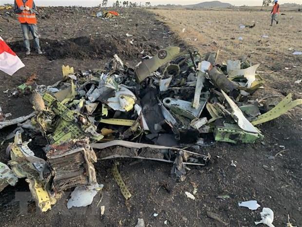 Ethiopia thu hoi hop den cua chiec may bay Boeing gap nan hinh anh 1