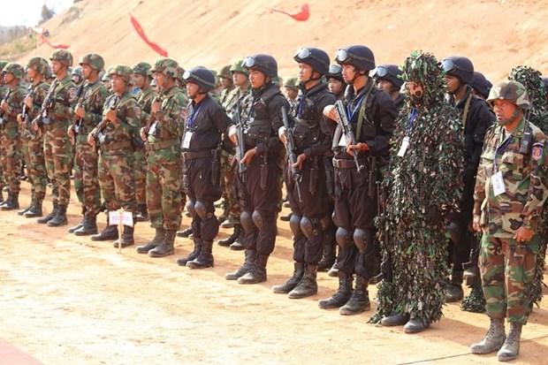 Campuchia-Trung Quoc dien tap chong khung bo va cuu tro nhan dao hinh anh 1
