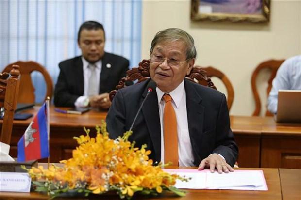 Bo truong Thong tin va Truyen thong tham Vuong quoc Campuchia hinh anh 3