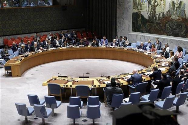 Toàn cảnh một phiên họp của Hội đồng Bảo an Liên hợp quốc về Triều Tiên ở New York (Mỹ). Ảnh: THX/TTXVN