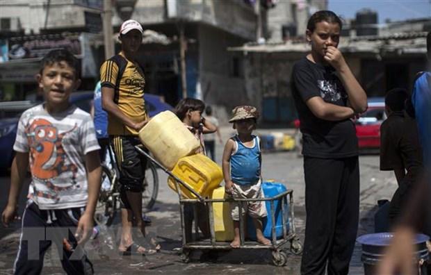Palestine hoi thuc cac nuoc Arab thuc hien cam ket vien tro tai chinh hinh anh 1